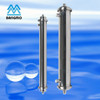 stainless steel cartridge filter housing for beverage