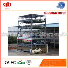 6 Level IC card Multimedia Puzzle Car Parking System
