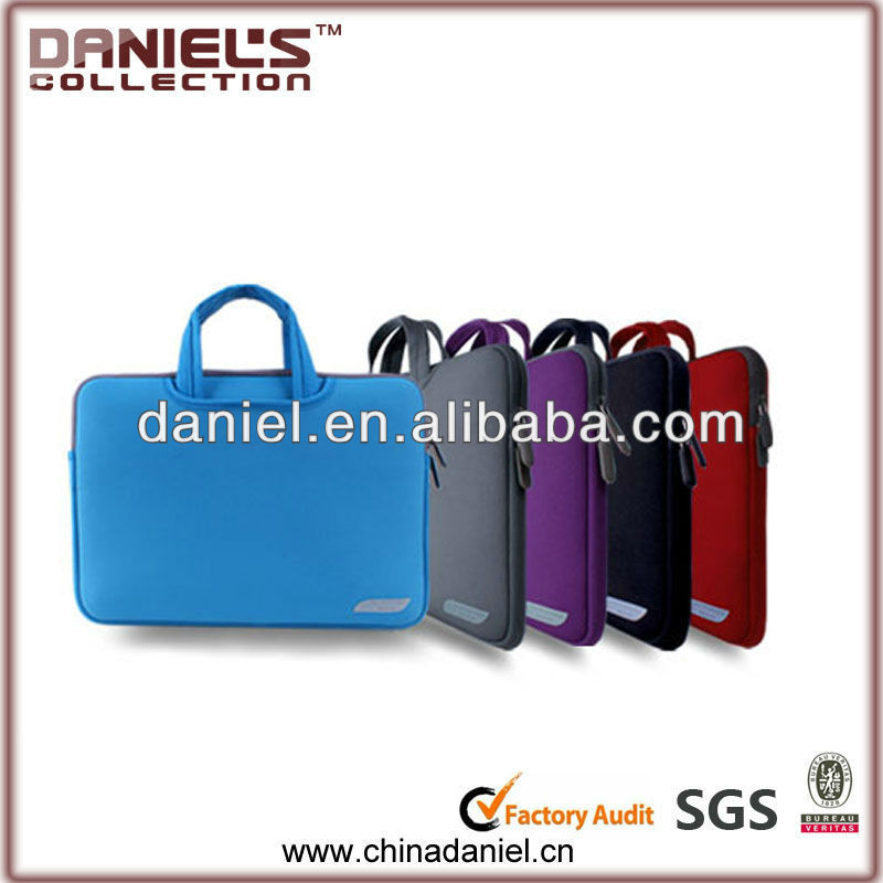 Colorful design fashionable neoprene laptop case neoprene bag