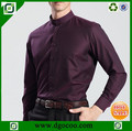 chino de los hombres camisas de cuello de los hombres- chino- cuello- camisas para hombre de la camisa de la fábrica