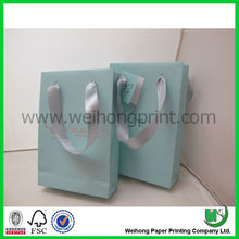 New popular custom packaging paper bag made in Donguan