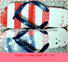 new design colorful cheap men's slipper