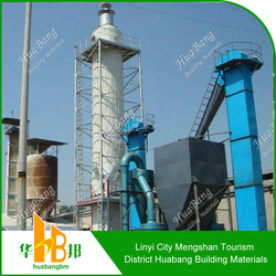 High efficiency and low maintenance cost plaster of paris making machine