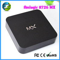 Android 4.2 Dual Core Amlogic 8726 Mx TV Box with CE and FCC hk mx electronic
