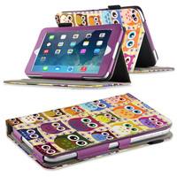 New Arrival Unique Design Leather Folio Flora Printed case Stand Case Cover For Ipad mini Ipad mini 2 ipad mini 3