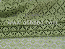 100 Polyester Knitting French Cheap Guipure Lace Fabric for wedding dresses