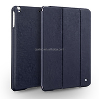 2015 QIALINO Hot Selected color top genuine leather cover For iPad Air Case
