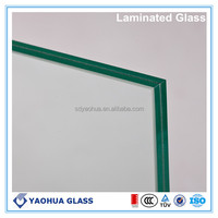 6.38mm decorative laminated glass for ceiling