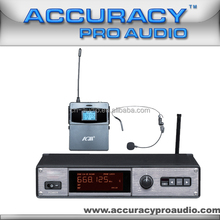 Professional Stage Performance Wireless Headset Microphone UHF-111