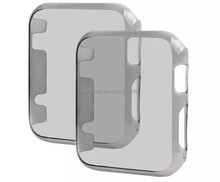 PC Crystal gray Super Lightweight Exact Fit Absolute fit case for Apple watch
