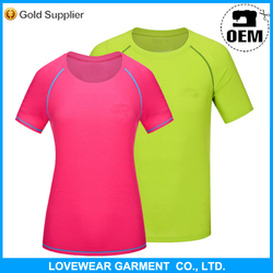 Professional factory cheap price high quality customized OEM service export sport t-shirt fabric