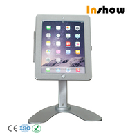 New product tablet desktop stand for ipad case with lock