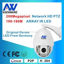 CCTV camera High speed dome camera 1080P 2MP cameras 22X optical Zoom Pan/Tilt PTZ camera