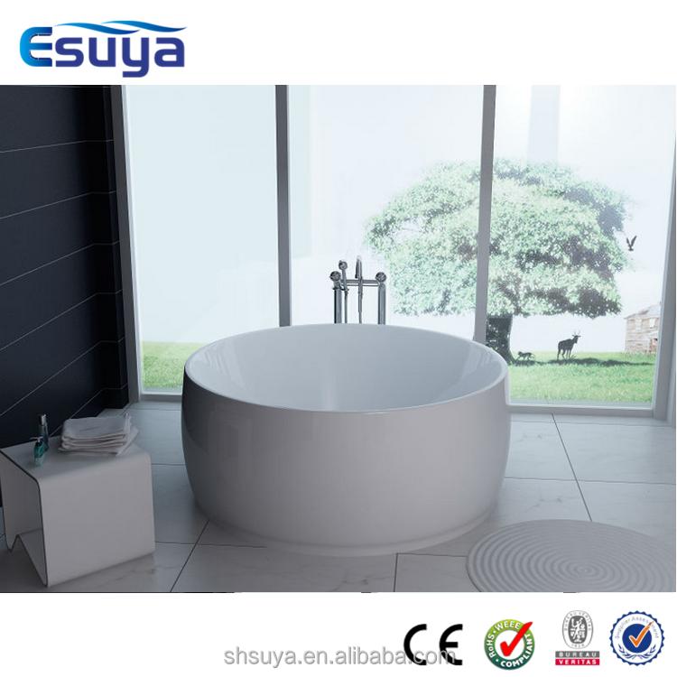 small round bathtubs sizes