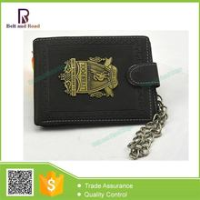 Best Choice classical real leather money clip wallet for men