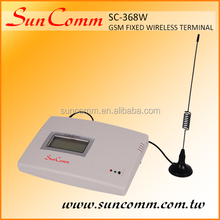 SC-368W with 1sim, 2tel port (2FXS), quad band for telephone / PBX connection GSM Fixed wireless Terminal, CE