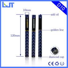 Hot USA e cig disposable vaporizer pen hemp oil,CBD/THC electic cigarette,thick oil cartomizer 1ml