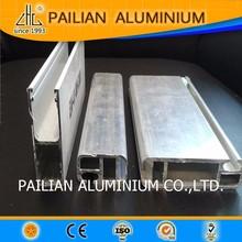 European standard modern Aluminium profile partition sliding/bedroom wardrobe top&bottom frame,aluminium wardrobe for bedroom