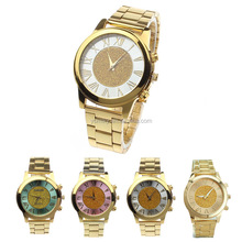 2015 Hot new products high quality gold ladies quatz wholesale wrist watch