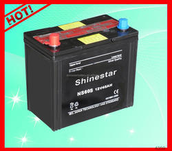 High performance 12Volt 45AH din standard dry charged car battery With Best Factory price