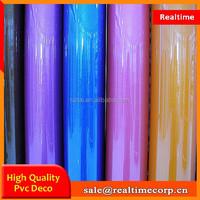 2015 cheap price decorative color pvc film
