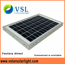 New 15w laminated solar panel with frame for street lamps