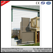 Handicapped equipment, hydraulic wheelchair disabled lift