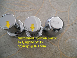 Customized Injection Plastic Wheel Nut Cover China Factory