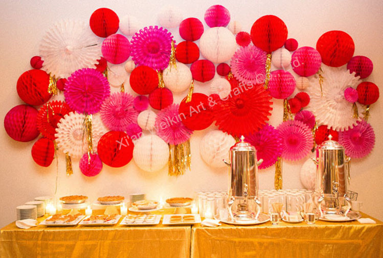 Hanging decor tissue paper pom poms flower ball for wedding gifts wedding decorations paper pompomsg mightylinksfo