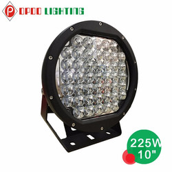 New offroad 10inch high intensity high power 225 watt led driving light