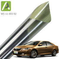 Solar heat reflective self adhesive 35%vlt car window tint film