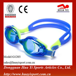 Large clear lens quick-fit buckle eyes protect swimming goggles