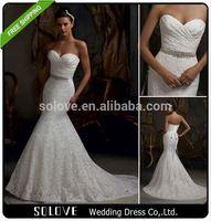 custom made beaded elie saab wedding dresses 2015 factory