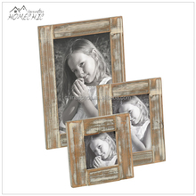 Oem rustico stile country 4x 4,4x 6,5x7 in legno photo frame/cornice