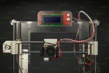 3D printer landscape design 3d duvet cover set