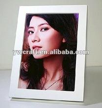 White wooden photo frame hot selling 2012(new design)