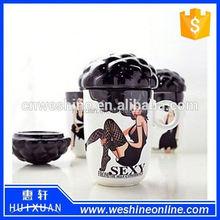 Explosion head shape ceramic Mug
