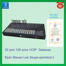 Ejoi 32 port GSM gateway, satellite antenna, converter for IP to analog