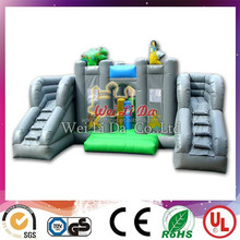 Children Inflatable Super Crocodile Water Slide inflatable castle