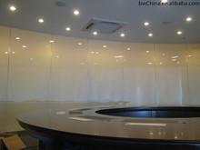 led smart glass mark/ceiling led smart glass/pdlc film smart glass