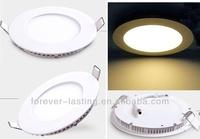 SMD 2835 9w 12w 15w 18w ac85-265v house led panel light round