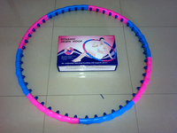 Plastic Magnetic Hula Hoop Massage and Lose Weight