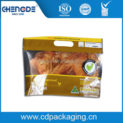 anti-fog CPP plastic laminated bag for hot chicken packaging
