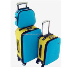 Popular export wheeled trolley luggage for young people
