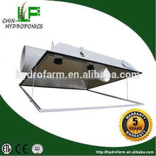 Solar hydroponics super large 6'',8'' air cooled reflector 8 inch cool tube grow light reflector
