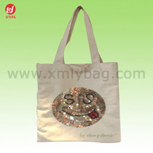 New Brand Standard Size 100% Cotton Canvas Tote Bags Wholesale