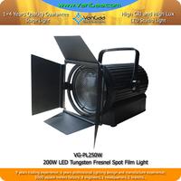 Fresnel Spotlights 200W 16 Bit Smoothly Dimmer LED Operation Theater Light