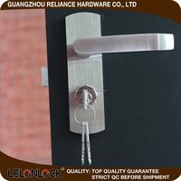 Supply all kinds of door hinge pin lock,bathroom door lock toilet,easy to install door lock