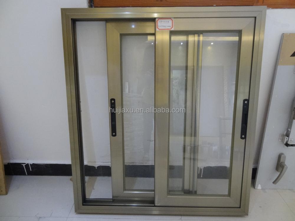 Alum nio janelas de vidro cor champanhe janelas id do for Colores de aluminio para ventanas