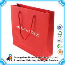 Guangzhou cheap wholesale custom foldable paper shopping bag